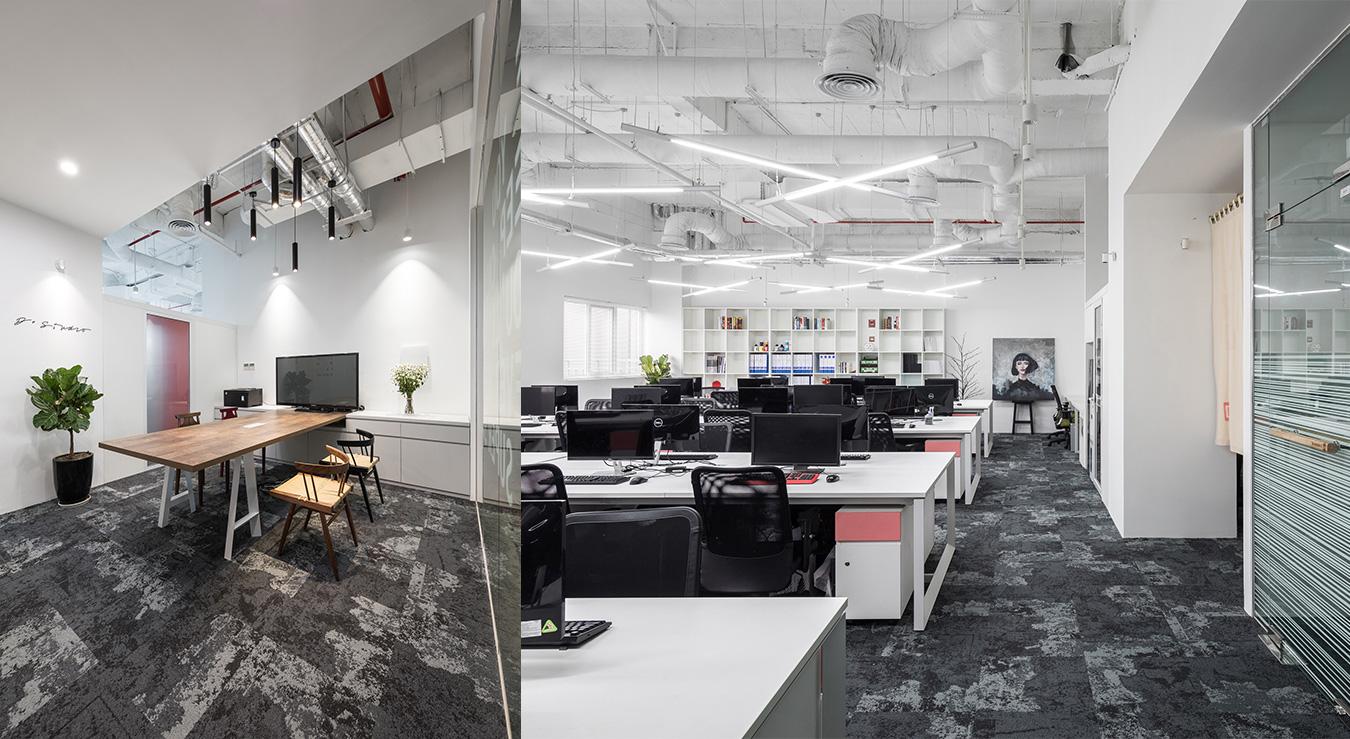 công ty thiết kế tư vấn nội thất văn phòng d+ studio