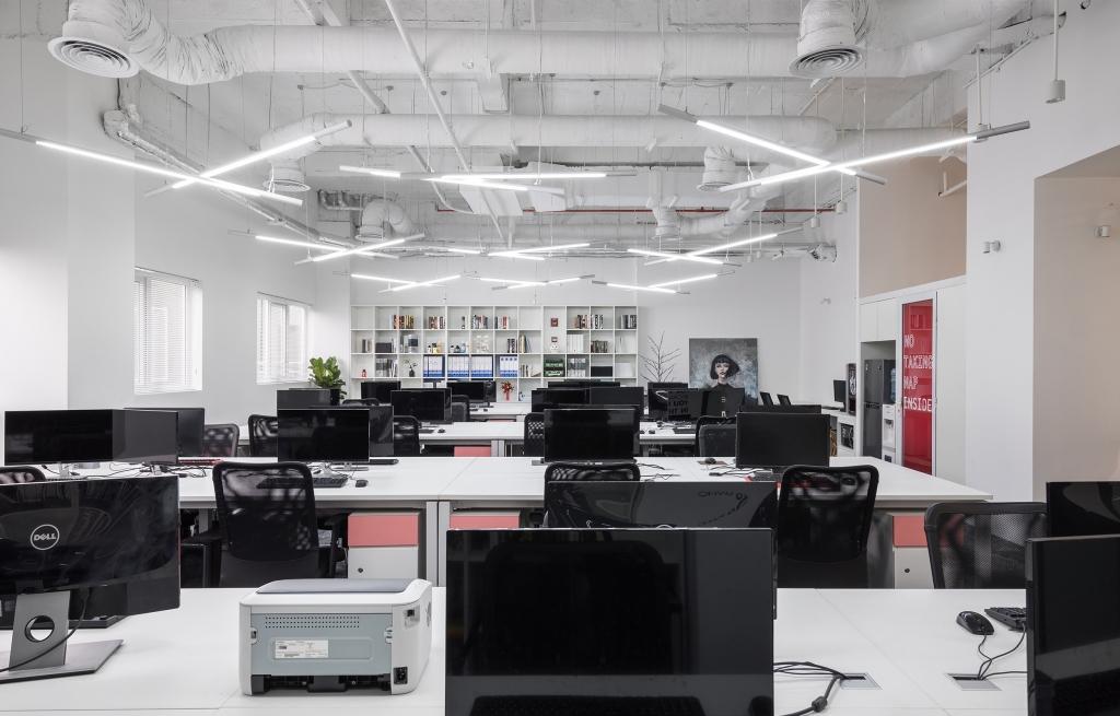 chi phí xây dựng văn phòng mở
