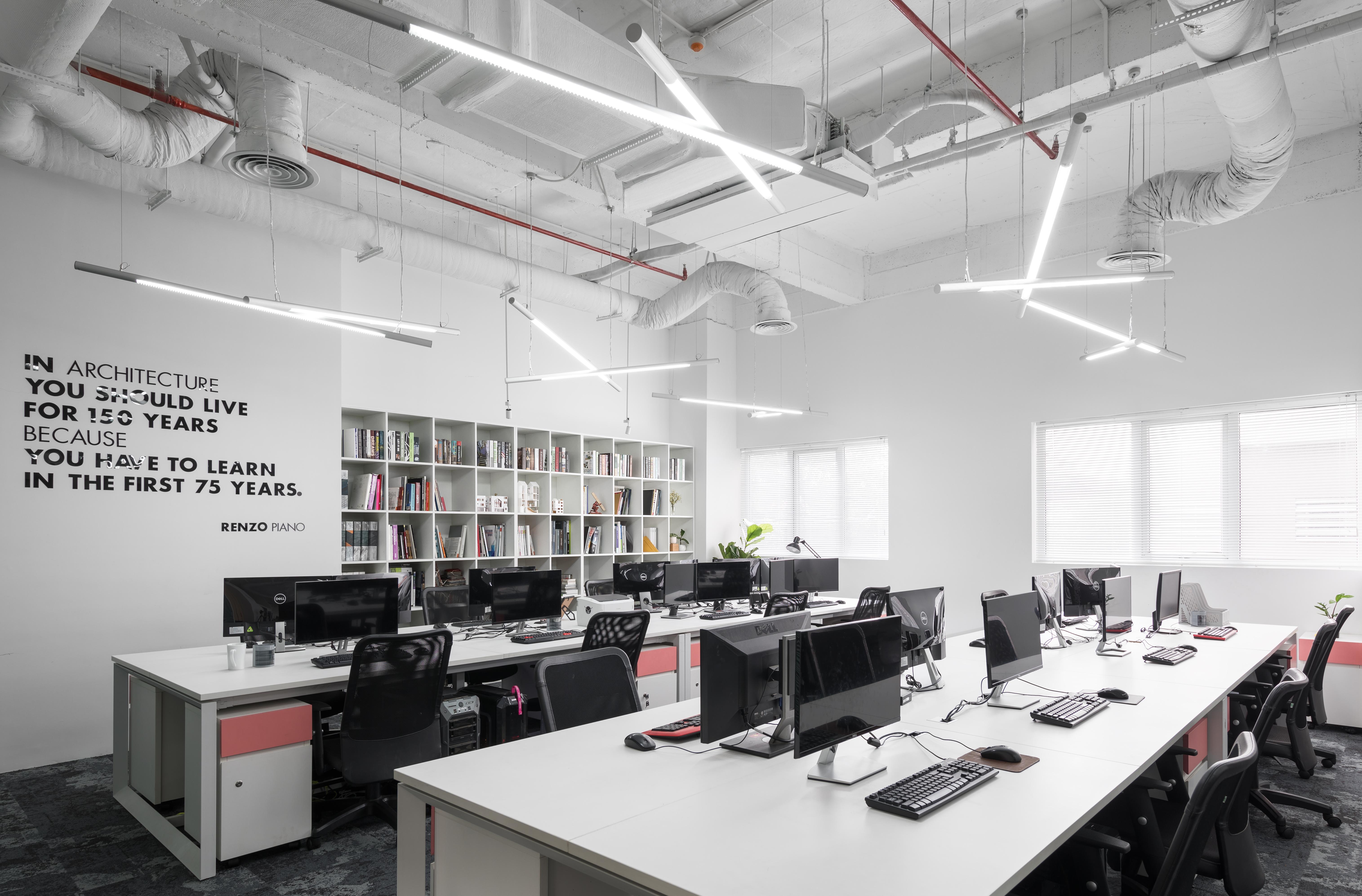 khái niệm văn phòng không gian mở