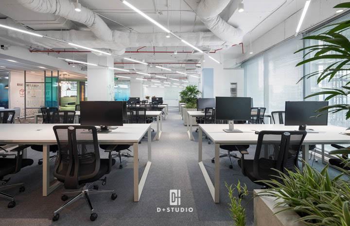mô hình văn phòng mở là gì