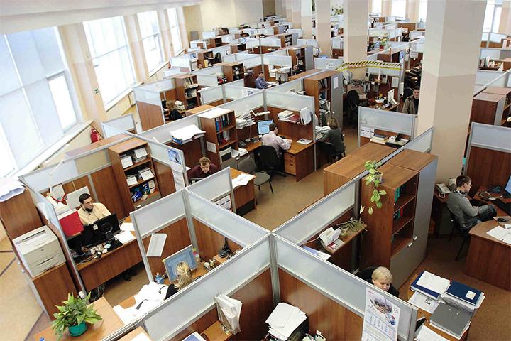 Khái niệm văn phòng truyền thống