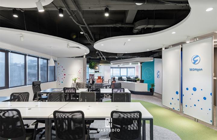 không gian làm việc văn phòng hiện đại