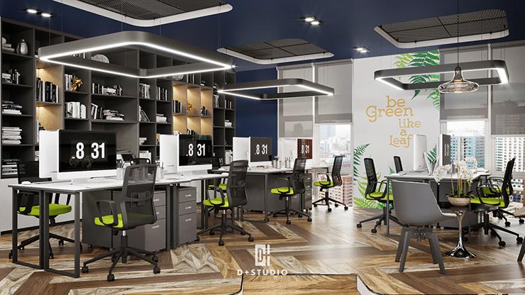 văn phòng mở tại ecoland