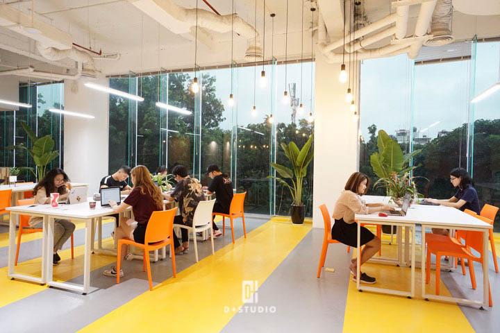 văn phòng xanh giảm căng thẳng stress