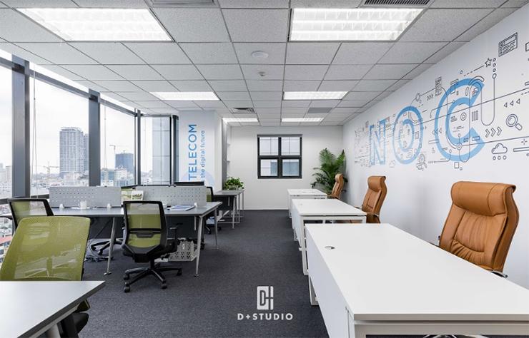 mẫu văn phòng mở cmc office