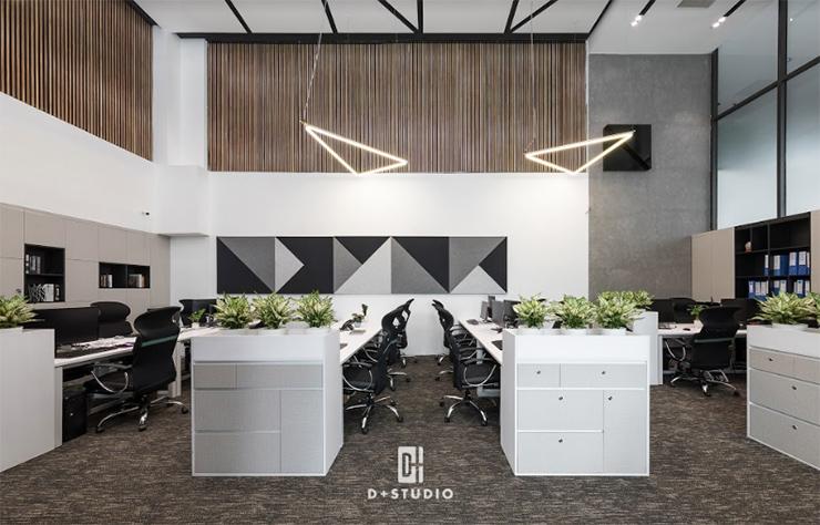 mẫu văn phòng mở đẹp ggroup