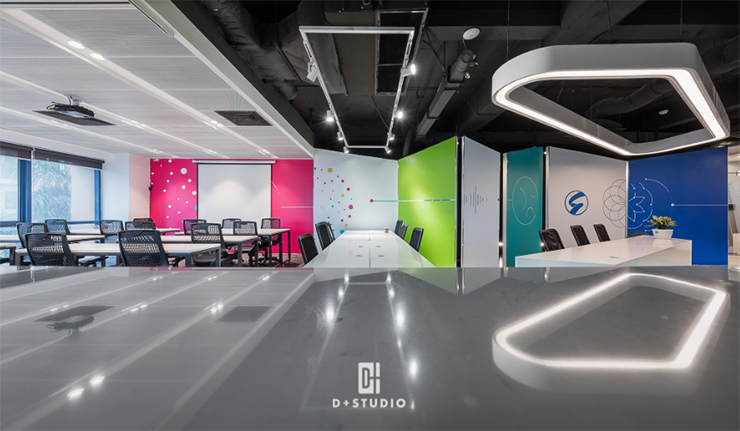 thiết kế văn phòng mở tại seongon