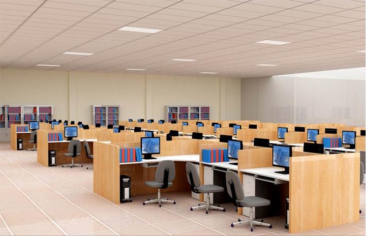 so sánh văn phòng truyền thống và văn phòng hiện đại về trang thiết bị