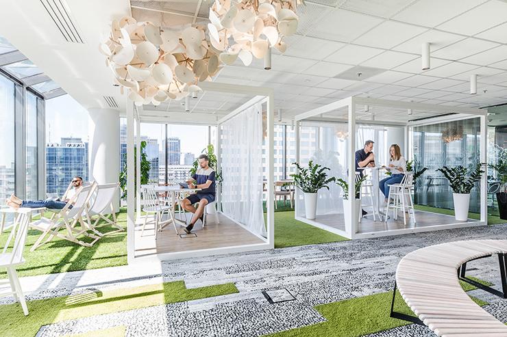 ưu điểm của văn phòng xanh về môi trường