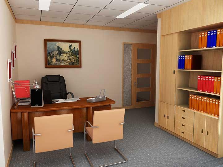 văn phòng đóng là gì