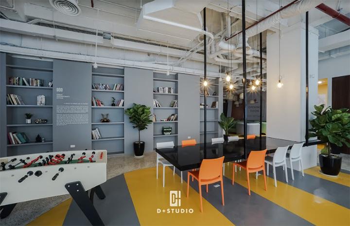 thiết kế văn phòng hiện đại đa chức năng