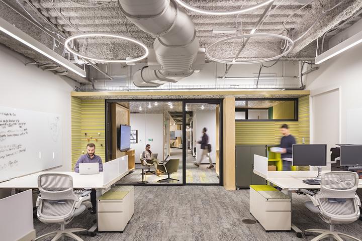 văn phòng hiện đại là môi trường làm việc lý tưởng