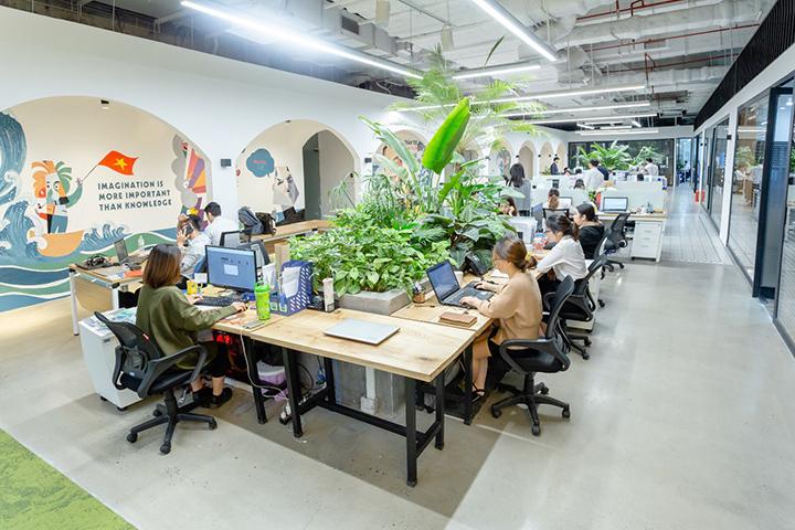 văn phòng hiện đại giúp tiết kiệm chi phí cho doanh nghiệp