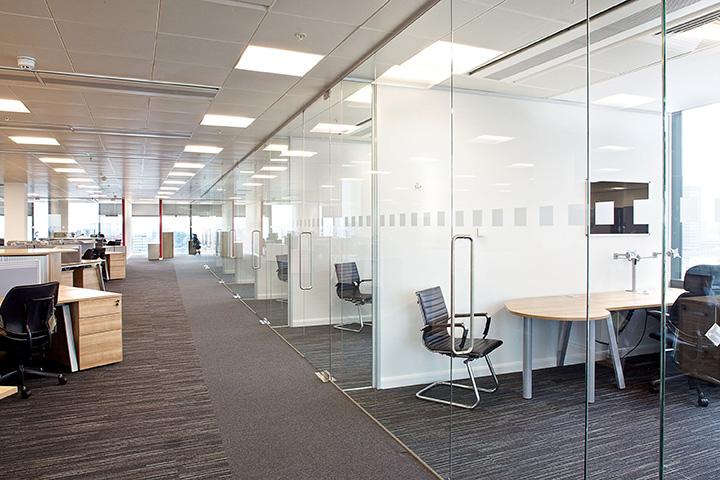 mô hình văn phòng hỗn hợp