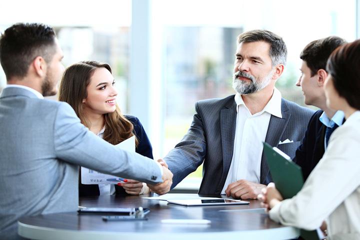 văn phòng truyền thống tăng sự tin tưởng của khách hàng đối tác