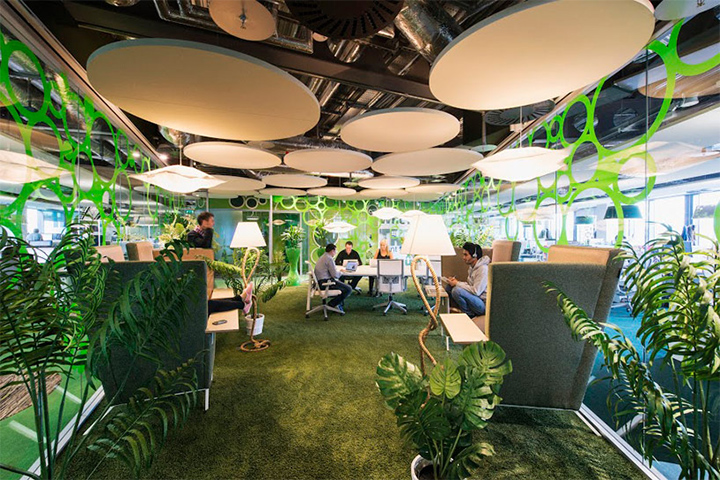 văn phòng xanh xu hướng tất yếu của tương lai