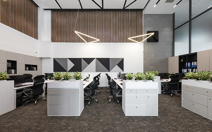văn phòng xanh nâng cao sức khỏe nhân viên