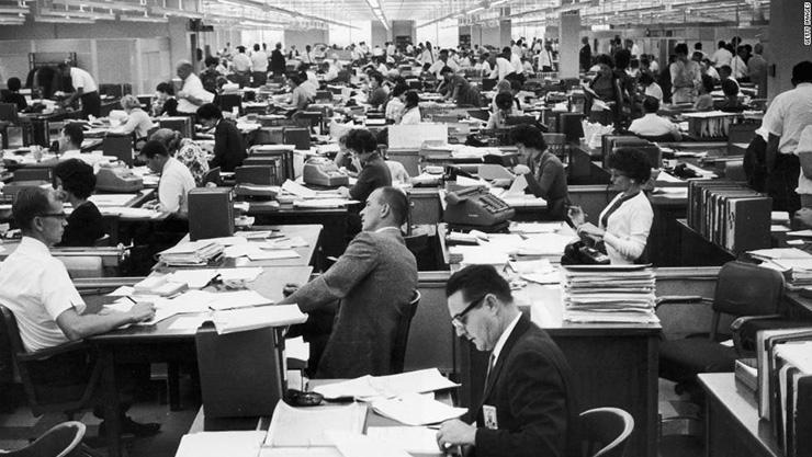 ý tưởng ra đời của văn phòng mở