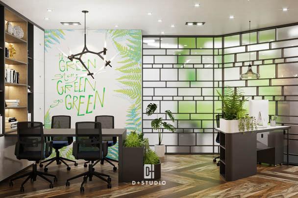 đặc điểm của văn phòng xanh là gì