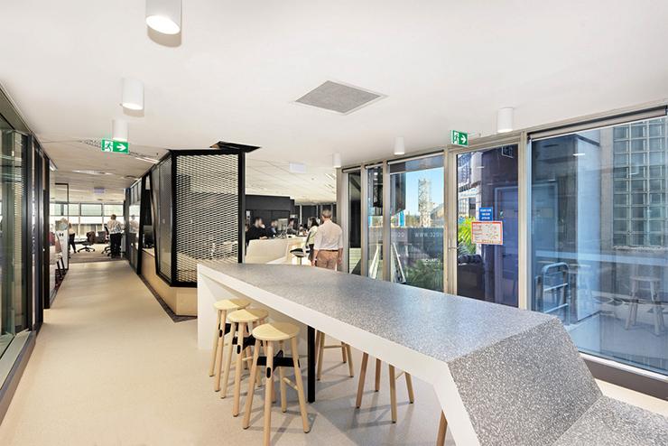 mẫu thiết kế pantry văn phòng đẹp hiện đại trên thế giới