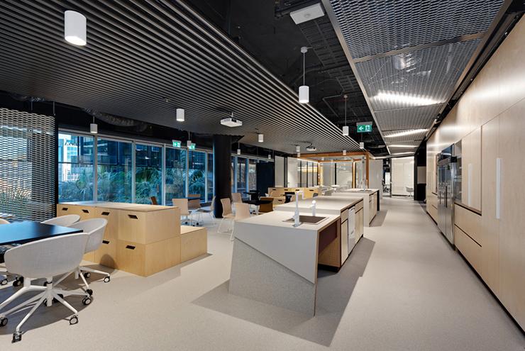 mẫu thiết kế pantry văn phòng đẹp thế giới
