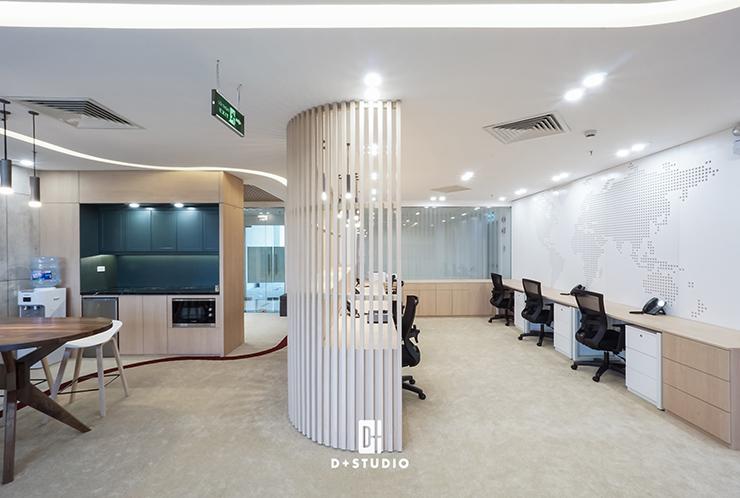 mẫu thiết kế pantry văn phòng đẹp