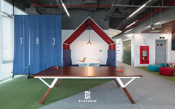 mẫu thiết kế phòng pantry văn phòng sáng tạo