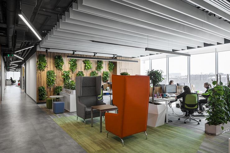 mẫu thiết kế vườn tường đứng văn phòng đẹp