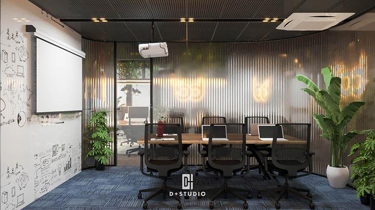 thiết kế cây xanh trong phòng họp