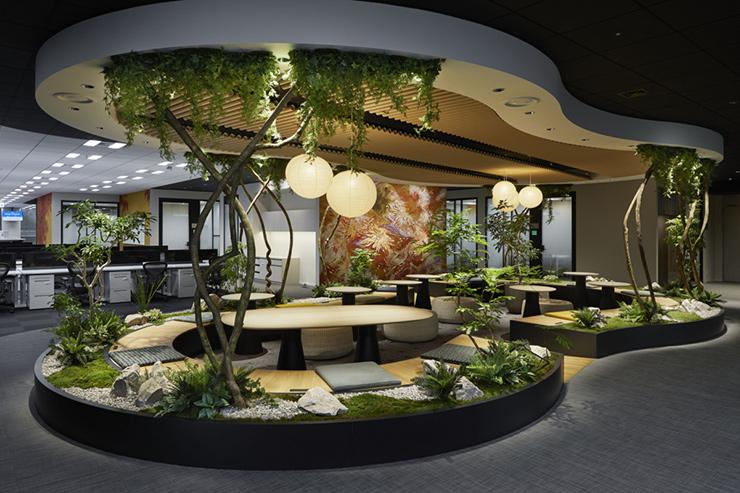 thiết kế khu vườn xanh mini
