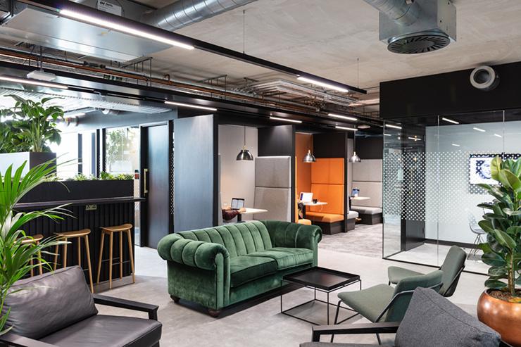 thiết kế văn phòng xanh cao cấp