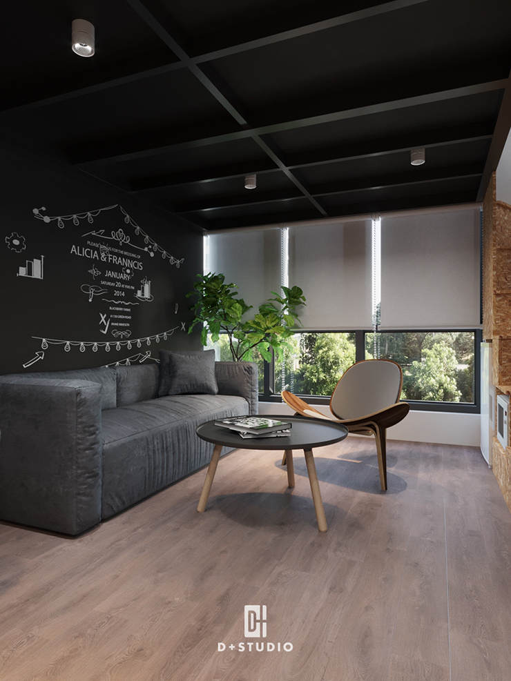 thiết kế xanh cho văn phòng nhỏ