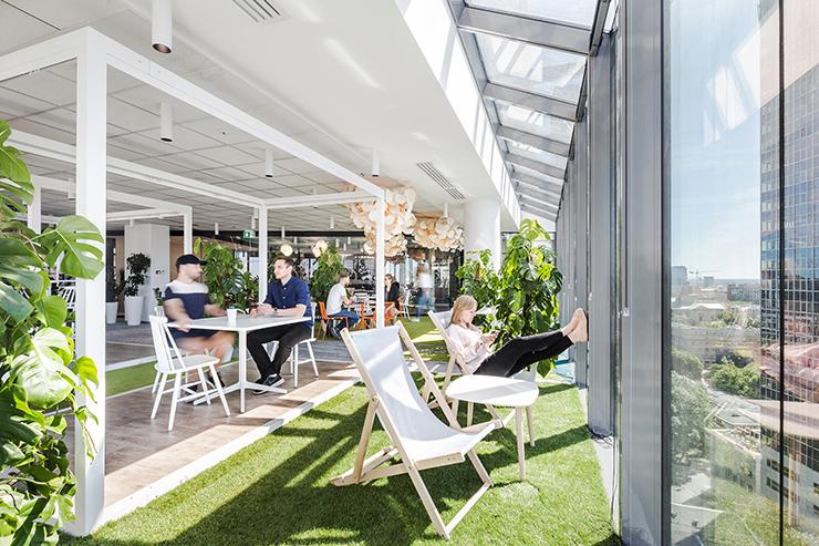 thiết kế văn phòng xanh nổi tiếng allegro