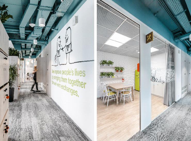 văn phòng xanh olx tối ưu ánh sáng tự nhiên