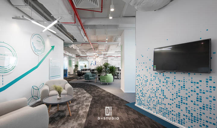 văn phòng hiện đại tập trung yếu tố gì