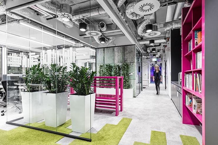 văn phòng xanh nổi tiếng của mediacom