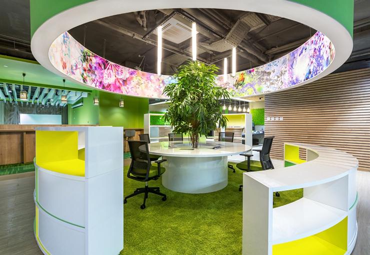 văn phòng xanh sberbank độc đáo