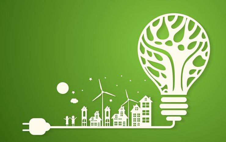 văn phòng xanh tiết kiệm năng lượng