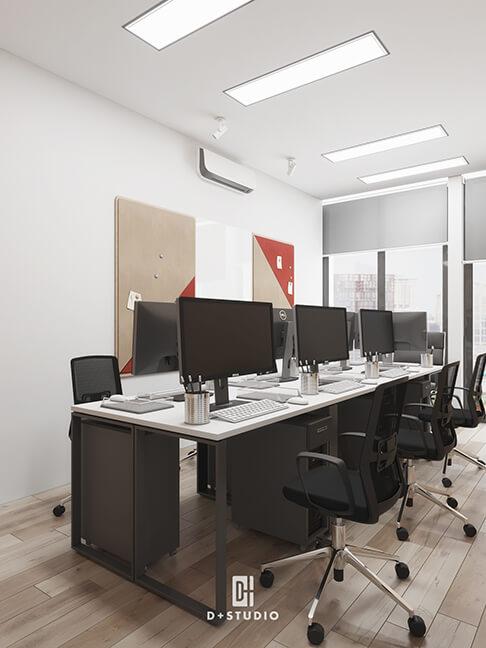 các kiểu thiết kế văn phòng làm việc đẹp