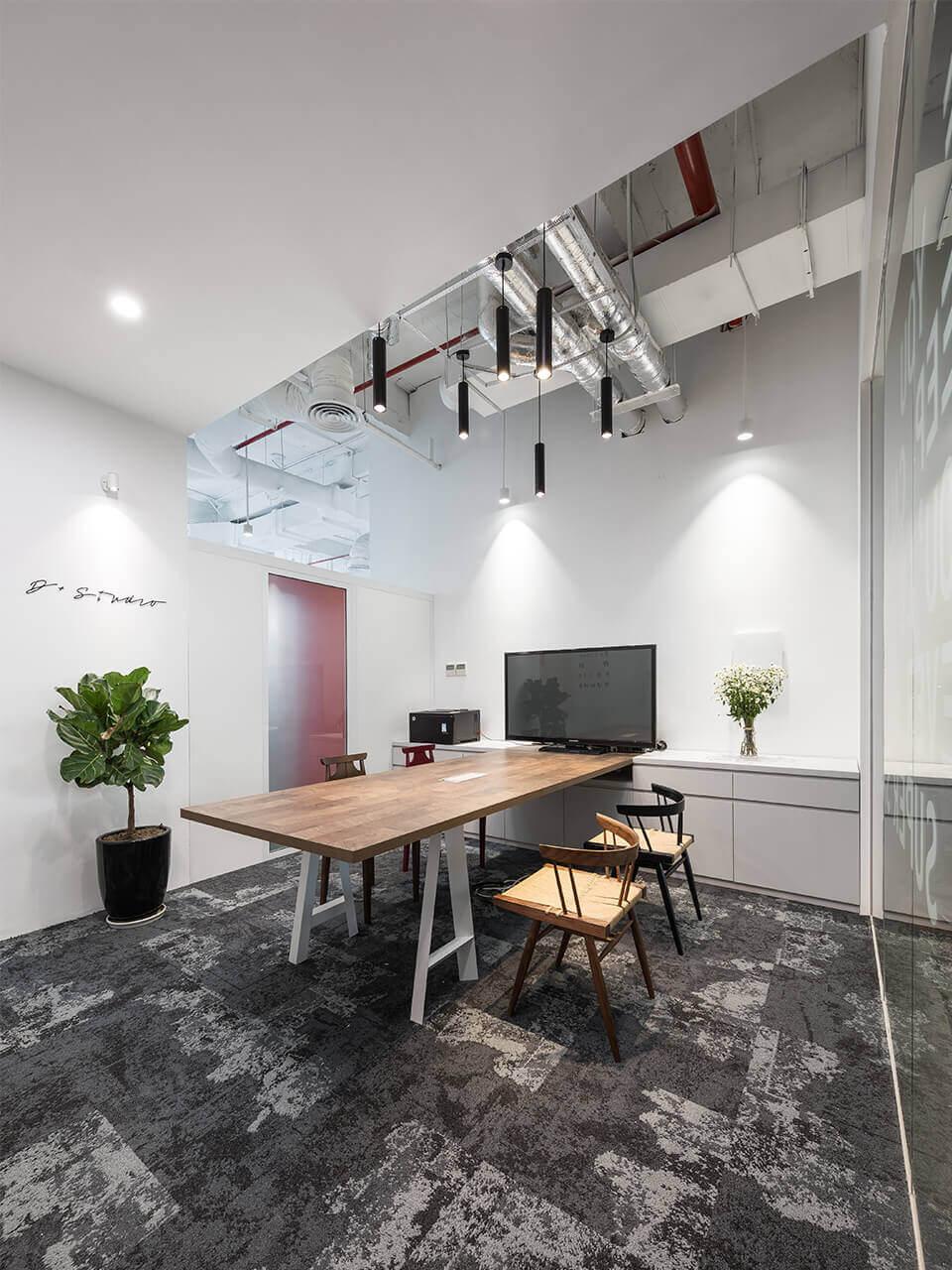 d+ studio công ty thiết kế văn phòng đẹp uy tín