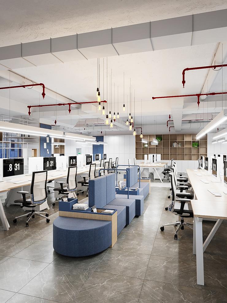 hình ảnh văn phòng công ty austdoor