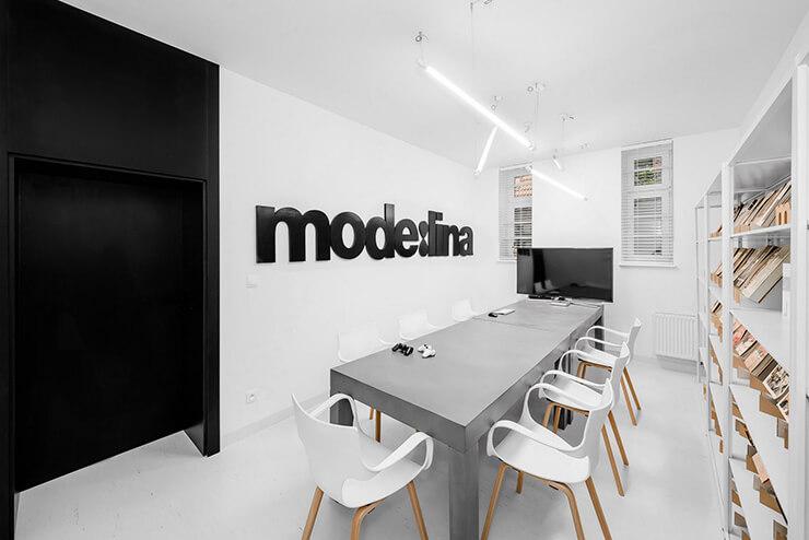 kiểu văn phòng làm việc công ty kiến trúc