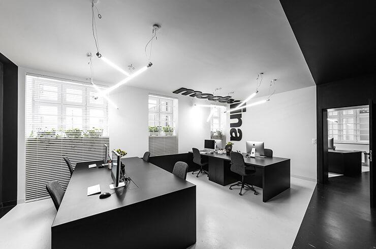 văn phòng công ty kiến trúc