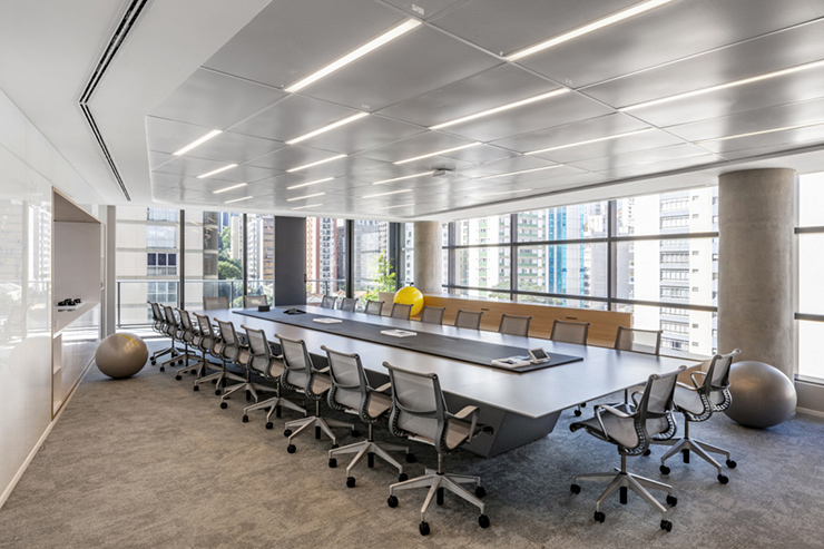 hình ảnh phòng họp hiện đại