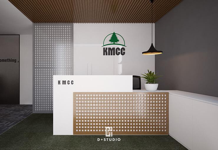 mẫu thiết kế quầy lễ tân kmcc