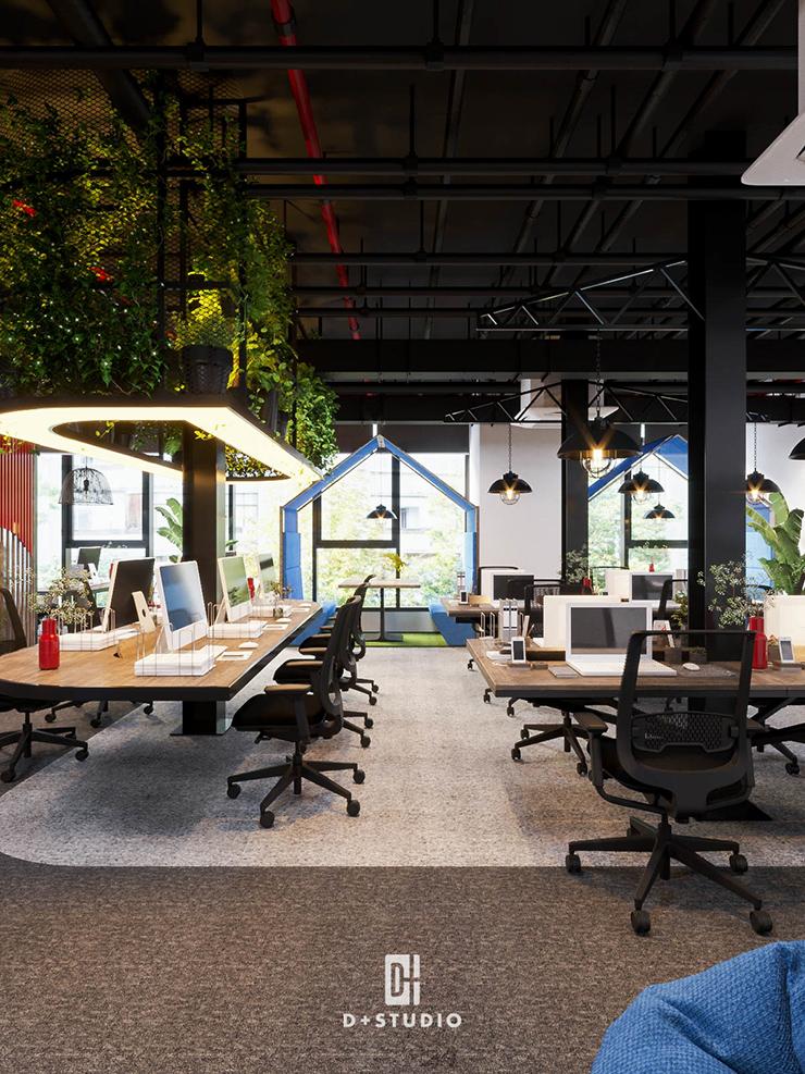 mô hình văn phòng xanh bci