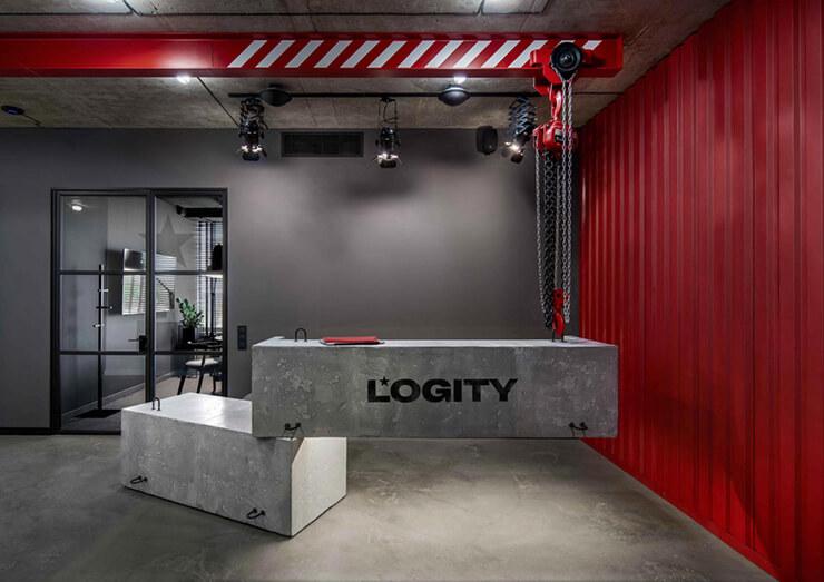 phong cách thiết kế văn phòng công nghiệp