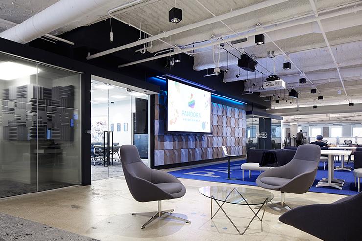 phong cách thiết kế văn phòng hiện đại