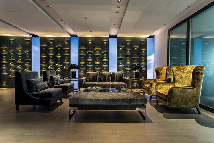 phong cách thiết kế văn phòng luxury