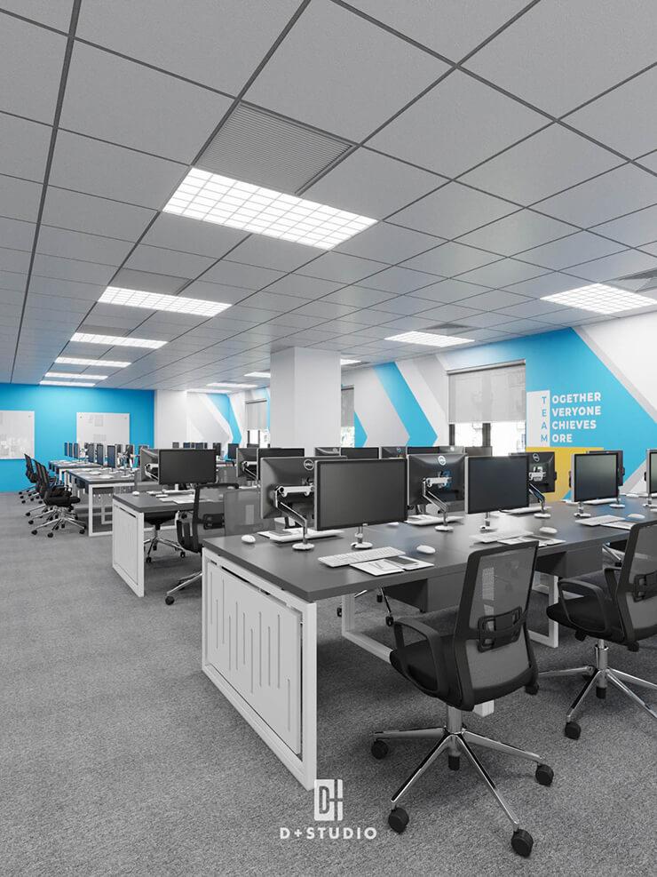 phong cách thiết kế văn phòng tối giản minimalism